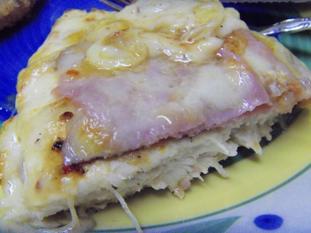 Quick Chicken Escalope With Ham and Gruyere