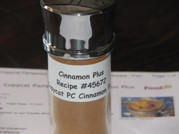 Baking Spice - Copycat Pampered Chef Cinnamon Plus Mix