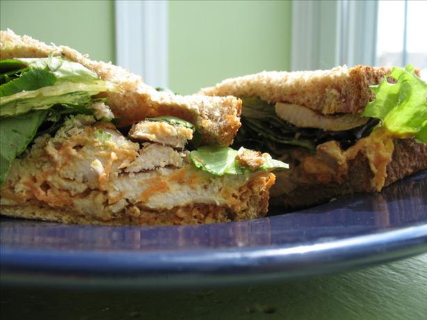 Chicken Sandwiches With Carrot-Ginger Slaw