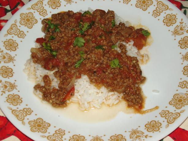 Ground Beef Curry (Kima Curry)