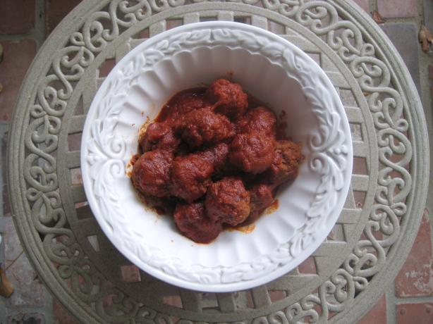 Meatballs that Make Their Own Sauce