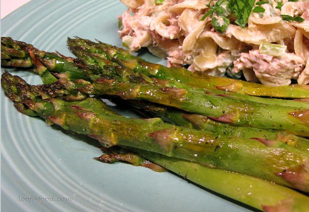 Seasoned Roasted Asparagus