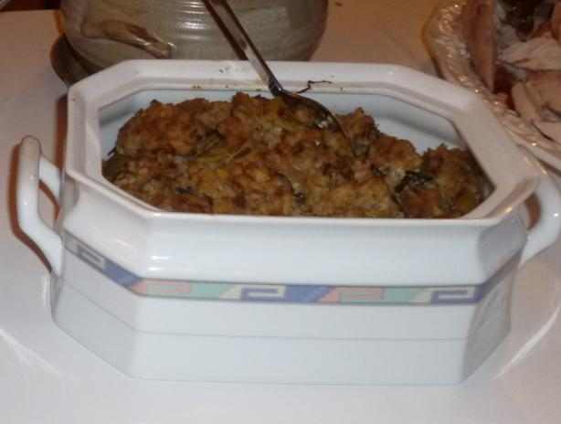 Stuffing for Christmas or Thanksgiving