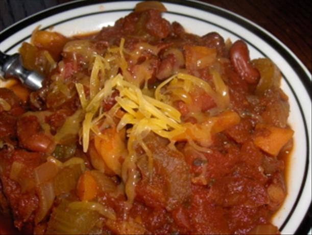 Vegetable Lover's Chili