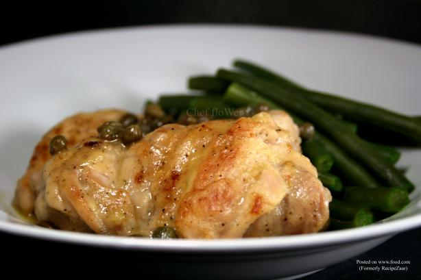 Sautéed Chicken Thighs With Lemon and Capers – Ww 5