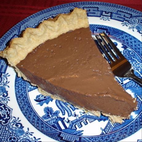 Sugar-Free Chocolate Cream Pie (Diabetic)