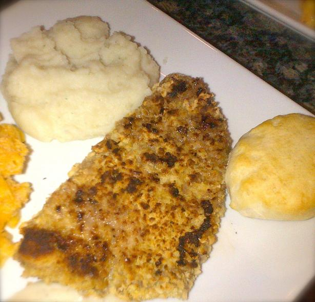 Chicken Fried Steak (Healthy Way)