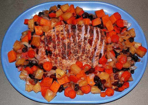 Fruited Turkey Breast