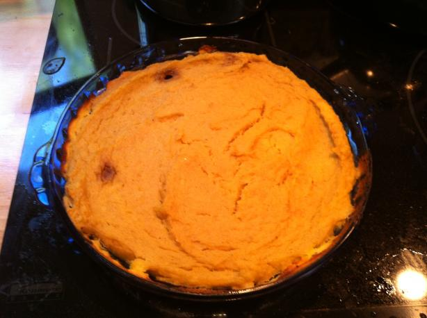Kumara(Kumala or Sweet Potato) Pie