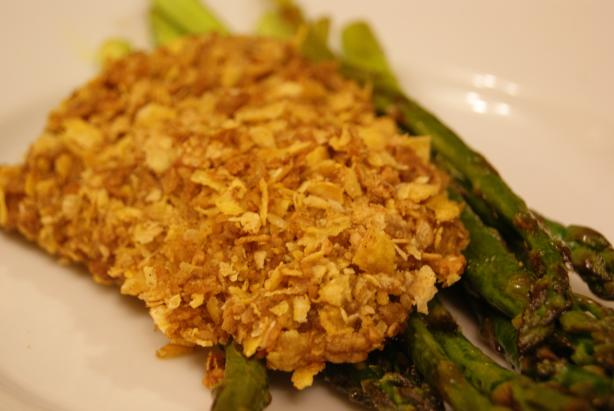 Double Coated Chicken With Corn Flakes