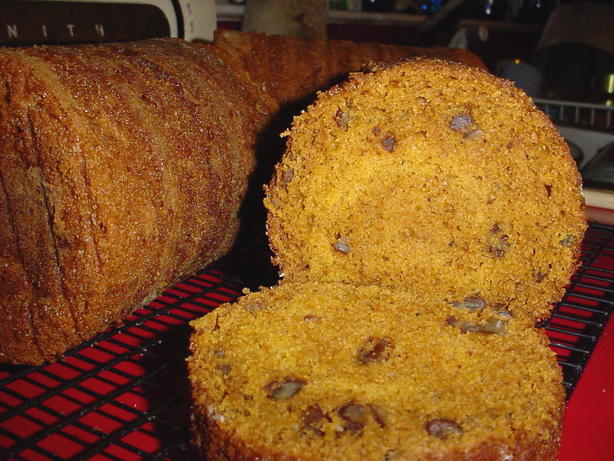 Coffee Can Pumpkin Bread