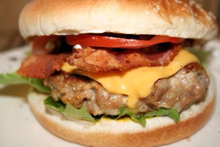 Chicken Bacon Cheeseburger Deluxe
