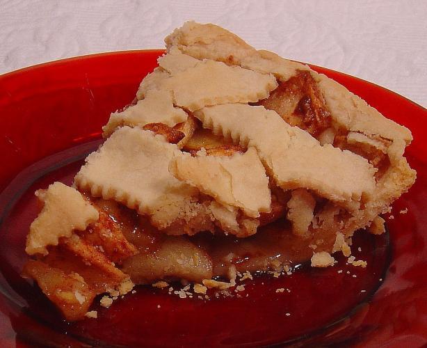 Teet Bush's Dutch Apple Pie (Diabetic)