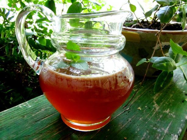 Lemony Iced Tea