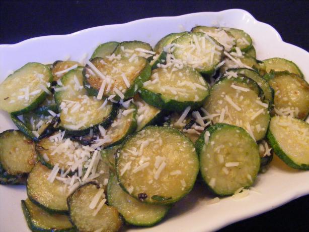 Stir Fry Parmesan Zucchini