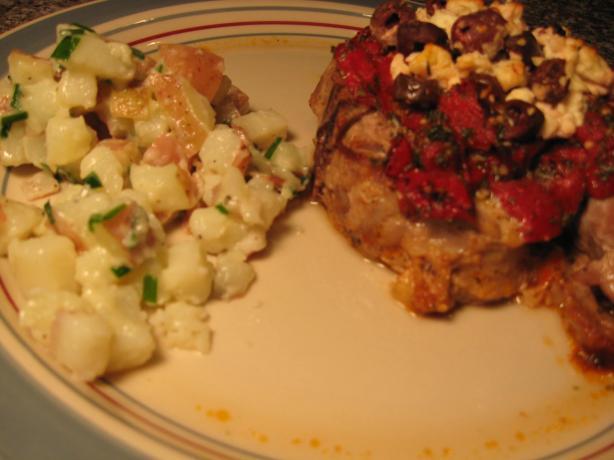 Greek Style Baked Pork Chops