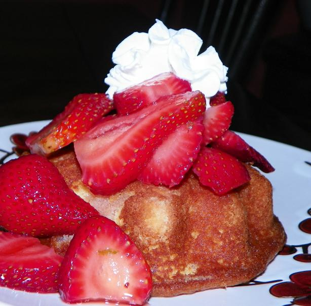 Honey Shortcakes and Strawberries