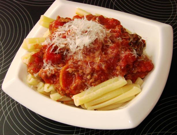 Old-World Spaghetti Meat Sauce