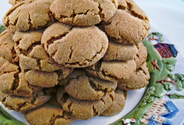 Gingersnaps (Soft & Chewy)