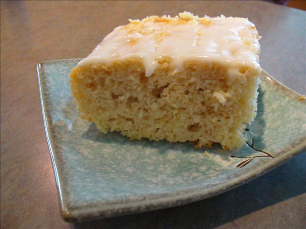 Inside out Lemon Cake With Lemon Glaze