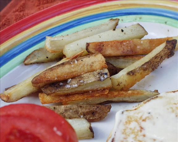 Easiest Low Fat French Fries