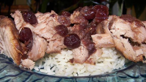 Crock Pot Cranberry Pork Roast