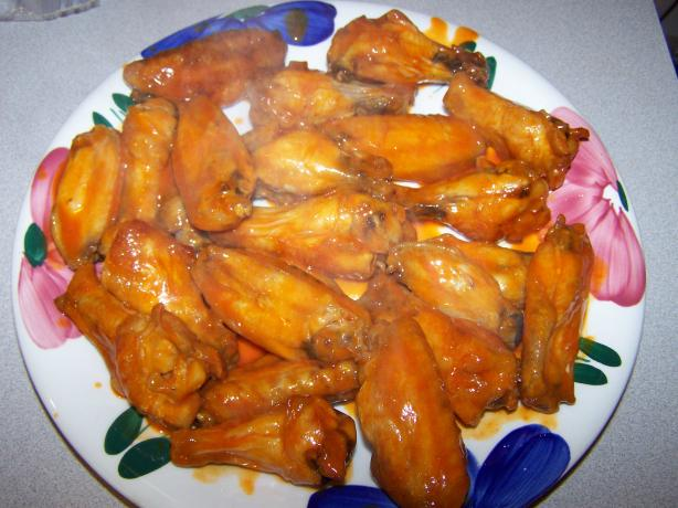 Good Eats Baked Buffalo Wings
