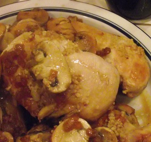 Yummy Chicken Marsala