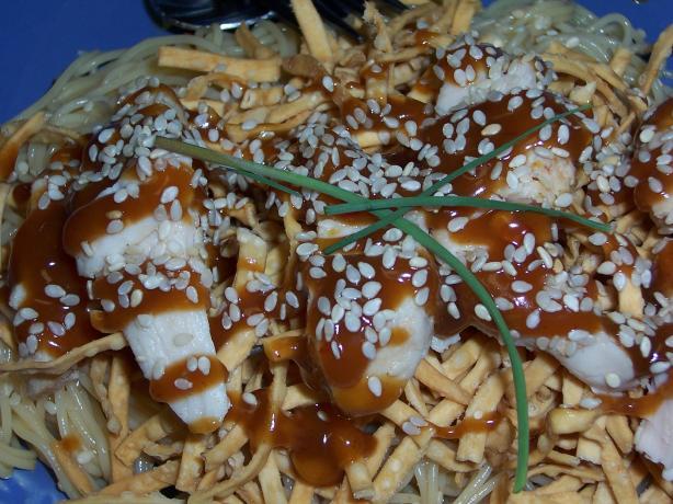 Sesame Peanut Chicken