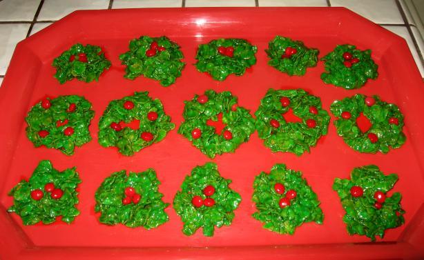 Christmas Holly Treats