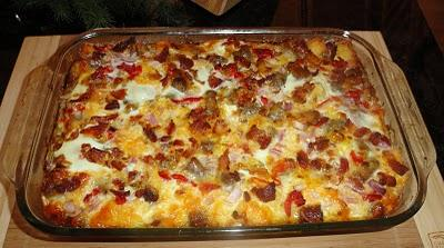 Johnsonville Easter Breakfast Casserole