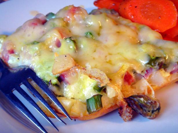 Asparagus Breakfast Casserole