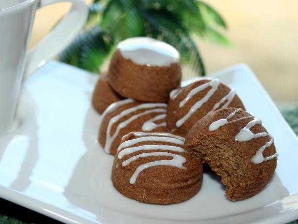 Quick Tangy Lemon Icing for Gingerbread Cookies