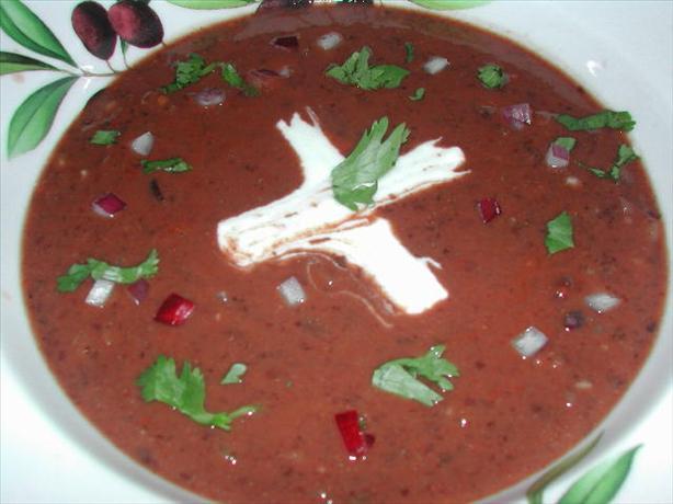 Black Bean Soup (Sopa De Frijoles Negros)