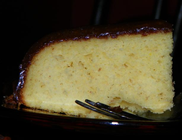Old-Fashioned Yellow Cake With Chocolate Icing