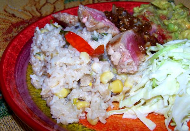 Arroz Blanco Con Verduras (White Rice W/ Vegetables)