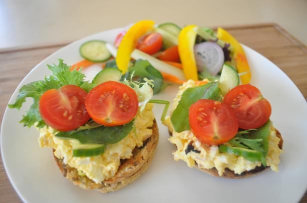 Egg Salad on English Muffin