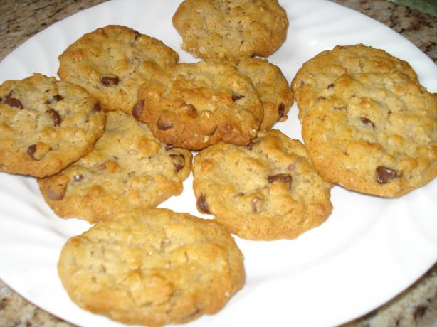 Lower Fat Chicago Style Chocolate Chip Cookies