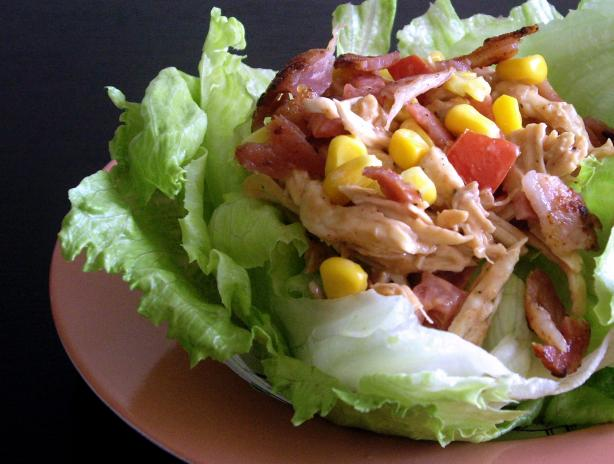 Barbecue BLT Chicken Salad