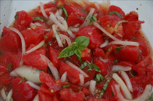 Sicilian Tomato & Onion Salad