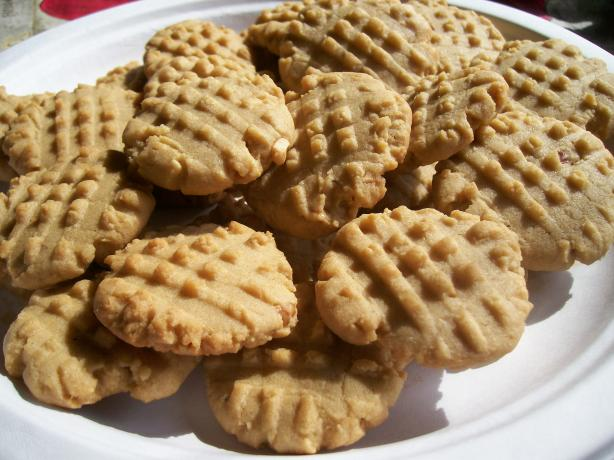 Slice and Bake Peanut Butter Cookies