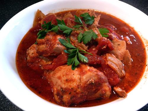 Saucy Italian Style Chicken Thighs - Crock Pot