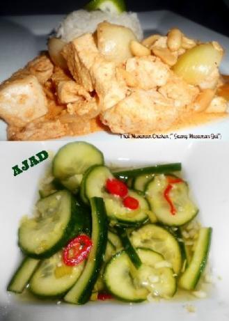 "Thai Masaman Chicken ("" Gaeng Masaman Gai"")"