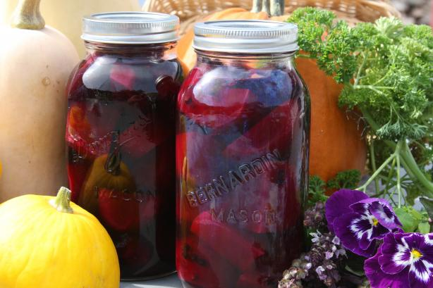 English Style Pickled Beets by the Jar