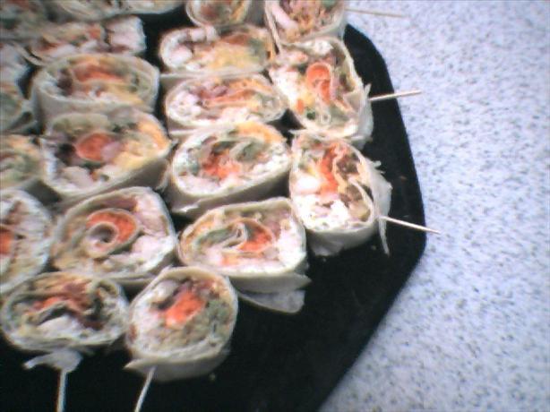 Chicken Tortilla Rolls
