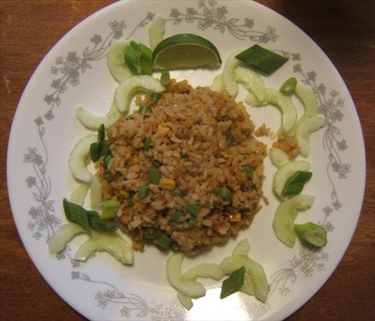 Thai Vegan Fried Rice (Khao Phad Jay)