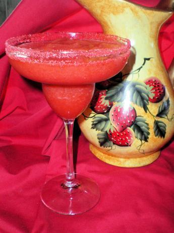 Frozen Strawberry Margaritas