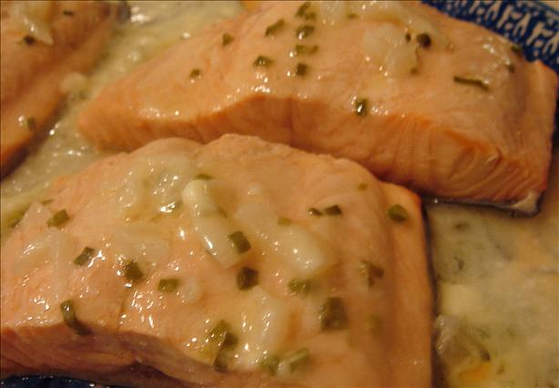Salmon With Butter Sauce