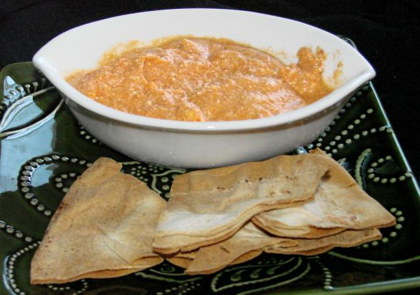 Greek Low-Fat Red Pepper Feta Dip