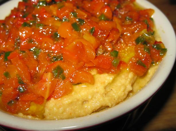 Jalapeno & Roasted Red Pepper Hummus